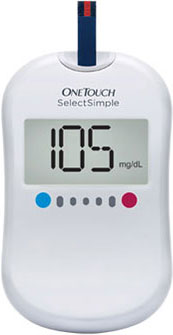 One Touch Select Simple Blood Glucose Meter